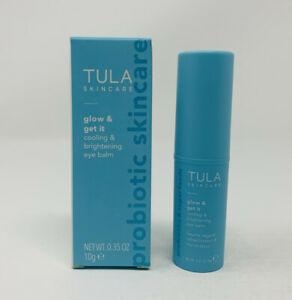 Tula Glow & Get It Cooling & Brightening Eye Balm 0.35 oz Full Size New In Box
