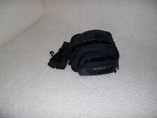 Compact Sony Camera Bag Black Nylon Adjustable Shoulder Strap Universal Small