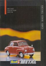 REVELL 1:12 1:18 1:24 DIE-CAST MODEL CARS BIKES TRUCK 1997-98 PRODUCT CATALOGUE