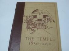 The Temple, 1850-1950 - Congregation Tifereth Israel of Cleveland