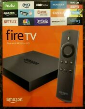 Amazon Fire TV 2nd Gen. Streamer 4K DV83YW Open Box With Free Shipping