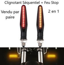 2 en 1 Clignotant séquentiel LED + Feu Yamaha Honda Suzuki Ducati Mash Indian
