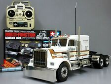 Custom Tamiya 1/14 RC King Hauler Semi Truck +MFC-01 LED Light & Sound +Upgrade