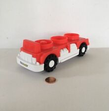 Mattel Fisher-Price Little People Red Fire Engine Truck 2012