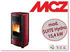 Stufa a pellet MCZ mod. SUITE Hydro 15 - pellet stove - potenza 15,4 kW