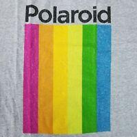 Polaroid Men's XL T-Shirt Licensed Logo Instant Camera Merch