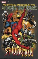 Spider-Man Comic Issue 1 Official Handbook Of The Marvel Universe Modern Age