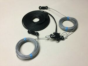 G5RV 1/2 Size 53 Feet 10 to 40 Meters Superior Poly Weave Wire Antenna / Aerial