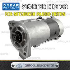 Starter Motor for Mitsubishi Triton MK ML Pajero NK NL NM 4M40 4M41 2.8L 3.2L