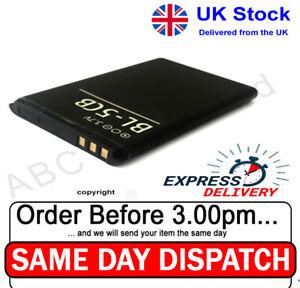 Genuine Nokia BL-5CB Battery For Nokia 100 C1-01 1800 1616 1280 106 113 X2-05