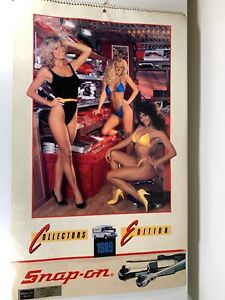 Vintage 1989 Snap-on tool calendar swimsuit mancave
