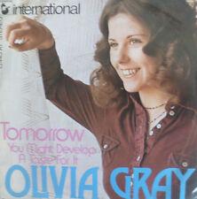 "7"" 1974 GERMAN PRESS RARE MINT-! OLIVIA GRAY : Tomorrow"