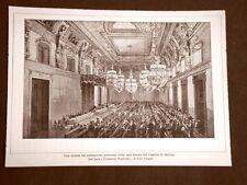 Nel Castello di Berlino nell'800 Seduta del Parlamento di Prussia