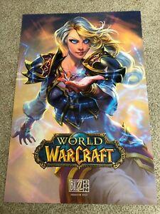 "Jaina World of Warcraft Poster - Blizzcon 2017 - 27"" x 40"""