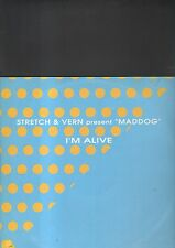 "STRETCH & VERN present MADDOG - i'm alive EP 12"""