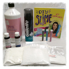❤️Ultimate How to make Fluffy Slime Making Karina Garcia slime book & DIY kit