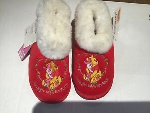 Marks and Spencer Disney Winnie the Pooh piglet slipper kids uk 11 brand new tag