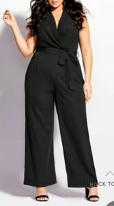 City Chic small Jumpsuit V Allure