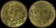 FRANCE 20 CENTIMES 1964 (SPECIMEN) *FDC / FLEUR DE COINS*