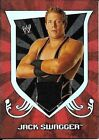 """2011 WWE TOPPS CLASSIC """"JACK SWAGGER"""" SHIRT RELIC INSERT WRESTLING CARD NEW"""