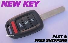 Replacement for Honda 13-15 Crosstour 14-16 CR-V 15-17 Fit 16-17 HR-V Remote Key