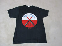 Pink Floyd The Wall Concert Shirt Adult Large Black Red Music Rock Band Tour Men