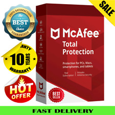 McAfee Total Protection 2020 Antivirus 🔥 1 Device 10 Year🔥Fast Delivery 📥
