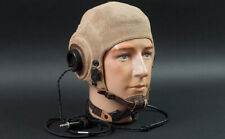 Ww2 Flight Helmet, Tropical Mesh, Complete w/ All Electrical