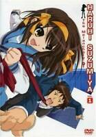 The Melancholy of Haruhi Suzumiya, Volume 1 - DVD - VERY GOOD