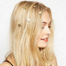 Fashion 1PCS latest gold Star spiral hairpin Hair for woman girl accessories