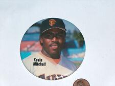 1990's Kevin Mitchell SF San Francisco Giants MLB Baseball Buttons Pin