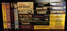 Lot of 25 VHS Movies - Classic / Mystery / Action (Shipping Included)