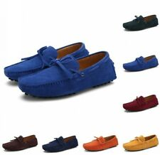 Hot Men's Loafers Driving Moccasins Casual Soft Suede Leather Penny Shoes US6-12