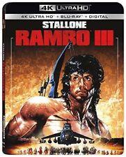 RAMBO III   3   (4K ULTRA HD ) - Blu Ray -Region free