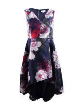 Calvin Klein Women's Plus Size Floral High-Low Gown
