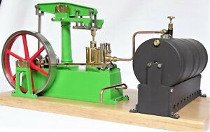 Live Steam - Beam Model Steam Engine and Boiler Fully Machined Metal Kit