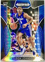 2019-20 Panini Keldon Johnson Silver Blue Prizm Rookie RC San Antonio Spurs 📈🔥
