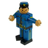 Wooden Policeman Fidget Toy For Kids Stress Reilef