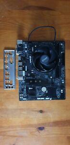 Ryzen 5 2600x Gigabyte A320m-s2h Corsair 8GB DDR4 Wraith cooler computer parts
