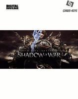 Middle-earth Shadow of War Steam Download Key Digital Code [DE] [EU] PC
