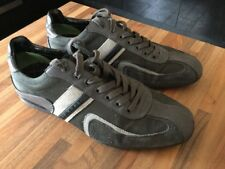 HUGO BOSS mens Trainer Shoes UK 7 Euro 41 GREEN LABEL good Condition