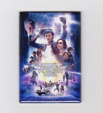 """READY PLAYER ONE -  2""""x3"""" MOVIE POSTER FRIDGE MAGNET (spielberg 1 scifi book)"""