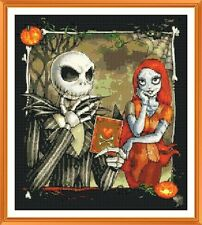 Nightmare before Christmas Cross Stitch Chart  x 12.0 x 10.7Inches