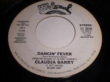 Claudja Barry: Dancin' Fever 45 - Disco