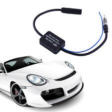 25db Enhanced Auto Car Signal Amplifier Booster TV AM/FM Radio Antenna Aerial
