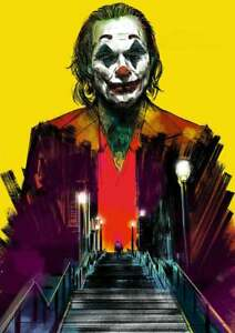 """Joker Stairs Movie Poster Two Pack 24/"""" x 36/"""""""