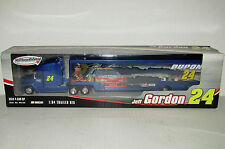 Jeff Gordon NASCAR Winners Circle 2005 DuPont 1:64 Trailer Rig Hauler