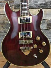 1978 Ibanez CN RARE Stunning Vintage Guitar Black Cherry Finish with Binding