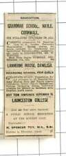 1935 Lanherne House In Dawlish, Boarding School For Girls
