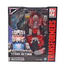 Hasbro Transformers Titans Return Voyager Class Blunderbuss Broadside Spielzeug